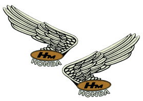 經典Wing貼紙9