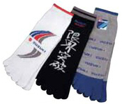 【SUZUKI】五趾襪(三雙一組)<Suzuki> <Motorsport> <Suzuki team> - 「Webike-摩托百貨」