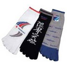 【SUZUKI 日本鈴木】五趾襪(三雙一組)<Suzuki> <Motorsport> <Suzuki team>