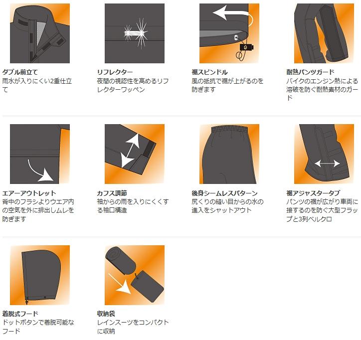 【YAMAHA】RY-764 休旅型雨衣 - 「Webike-摩托百貨」
