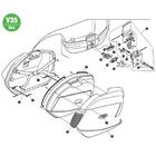 【GIVI】【維修零件】反光板 (TECH) [Z1424TR]