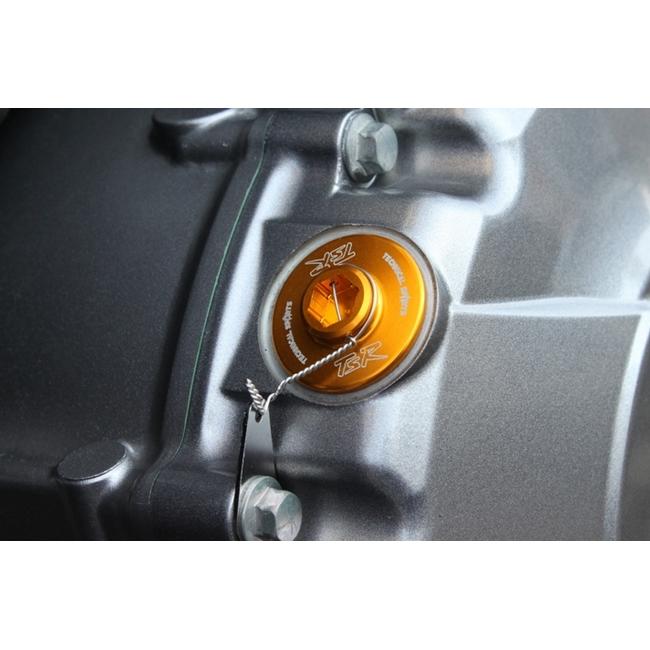 機油注油蓋 M20xP2.5 金色