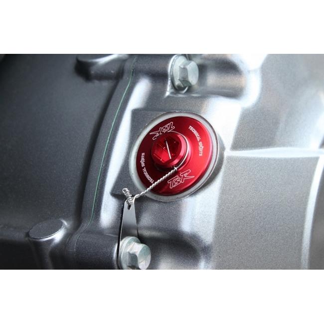 機油注油蓋 M20xP2.5 紅色