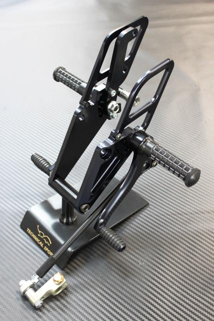 腳踏後移套件 (4位置/黑色)