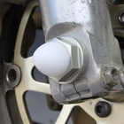 【TSR】鋁合金前輪軸螺帽M14 硬陽極處理