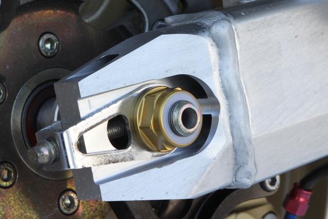 M18 鋁合金後軸螺帽 (金色)