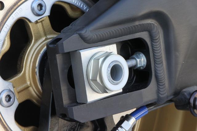 後輪軸螺帽M22 硬陽極處理