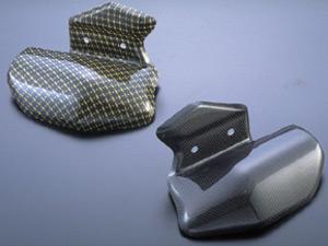 碳纖維排氣管防燙蓋 (左)