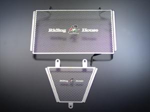 【RidingHouse】不銹鋼散熱器(水箱)護罩 - 「Webike-摩托百貨」