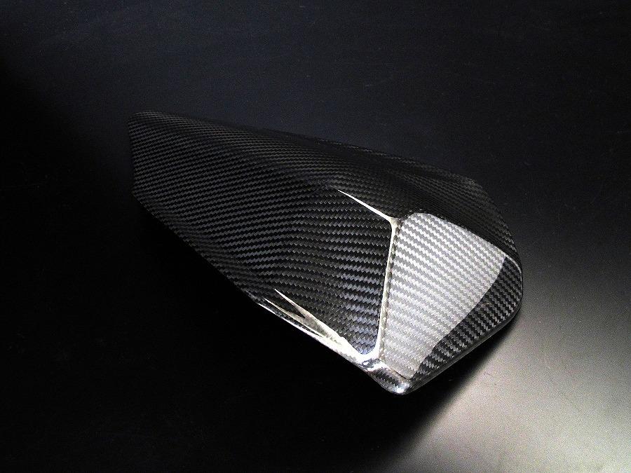 霧面乾式碳纖維單座坐墊蓋