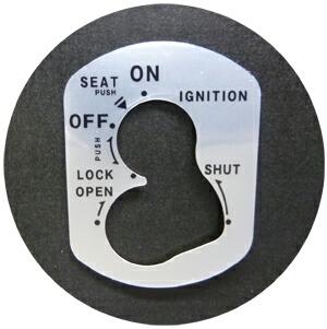 鑰匙開關貼片