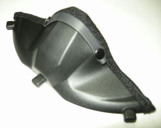 安全帽呼吸防護板