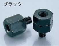 後視鏡轉接座(RL)組 (10mm 黑色)
