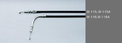 Barnett油門拉索(固定式)初期型雙化油器專用