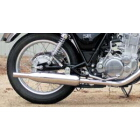 【WM】SR NEO Triumph type不鏽鋼排氣管尾段含固定架組