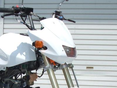 Z1000 復刻版頭燈整流罩