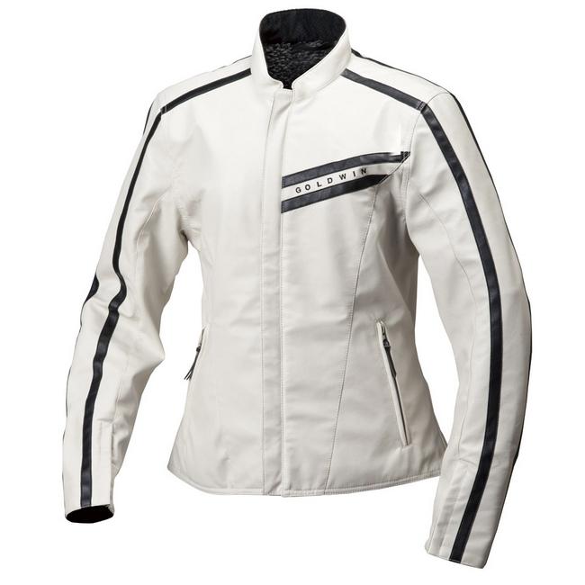 GWS 合成皮革製保暖騎士外套