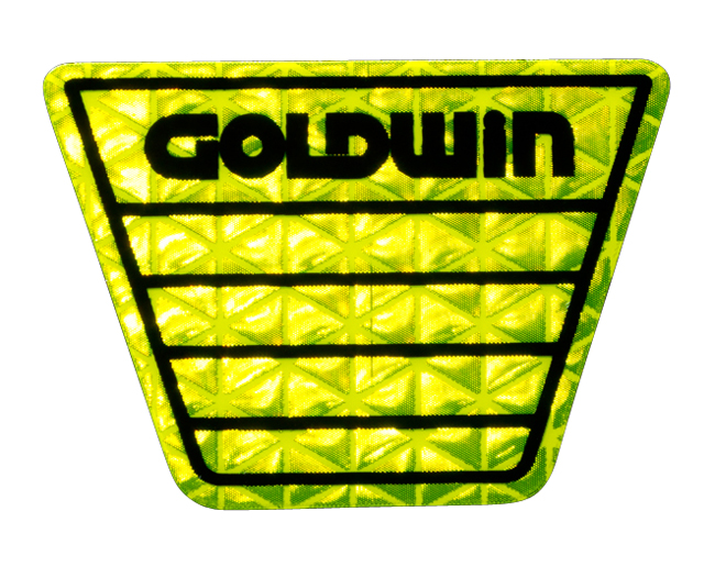 【GOLDWIN】反射Mark貼紙 - 「Webike-摩托百貨」