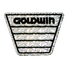 【GOLDWIN】反射Mark貼紙