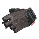 ROUGH & ROAD Punching leatherHalf finger glove