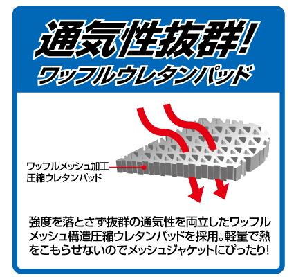 【ROUGH&ROAD】透氣脊椎護板 - 「Webike-摩托百貨」