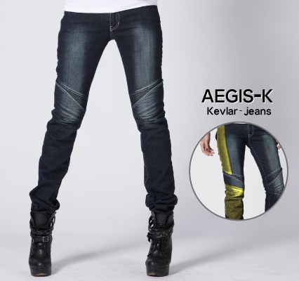MOTOPANTS  AEGIS-K 女用牛仔車褲