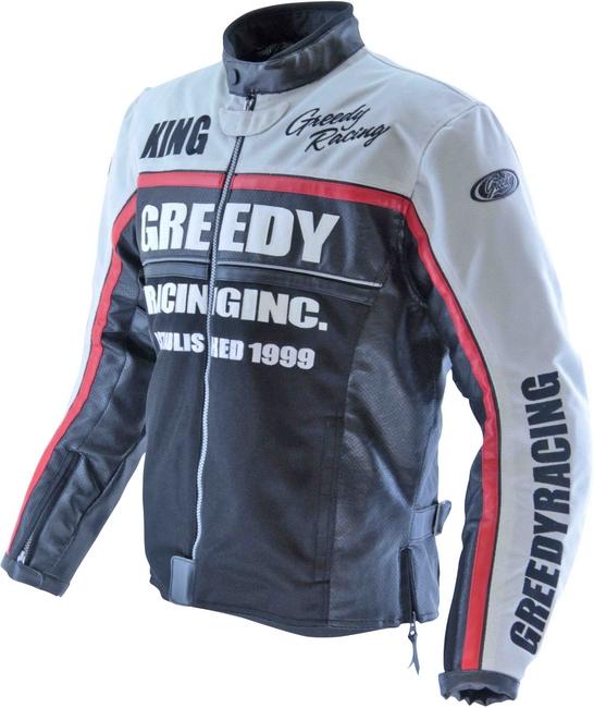 【GREEDY】復古型網格外套 - 「Webike-摩托百貨」