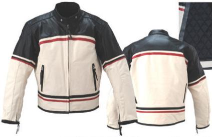 全年型皮革外套