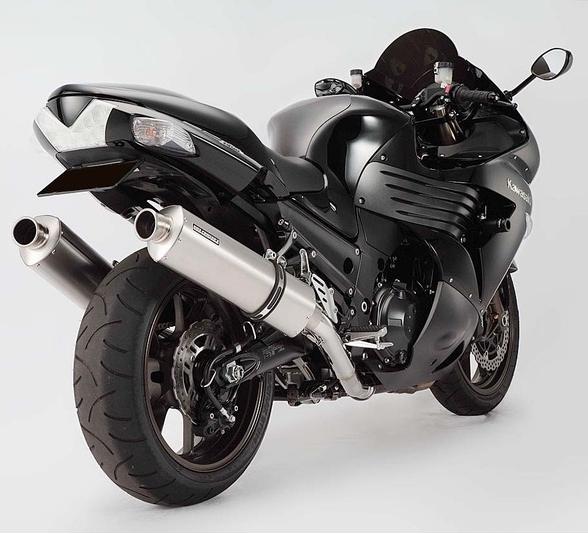 BMS W-tail 方形不鏽鋼排氣管尾段