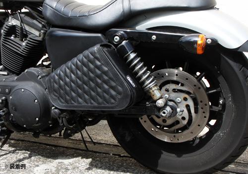 【EASYRIDERS】XL1200C SPORTSTER 1200用Diagonal 馬鞍包 - 「Webike-摩托百貨」
