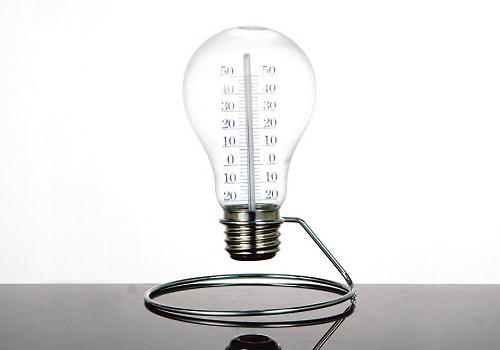 【DULTON】燈泡溫度計