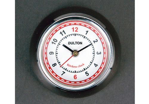 【DULTON】廚房時鐘 (附磁鐵)