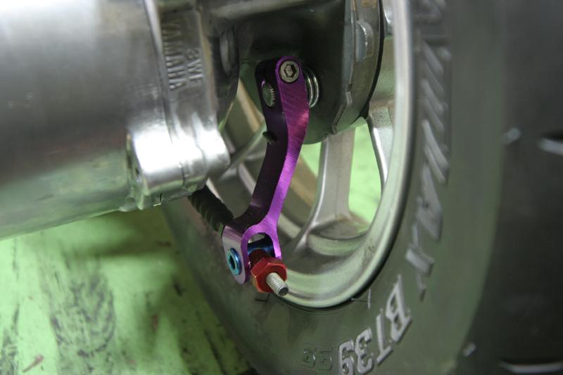 鋁合金後煞車調整螺帽