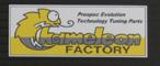 【Chameleon Factory】貼紙小型(80×30) - 「Webike-摩托百貨」