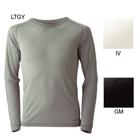 モンベル:mont-bell/スペリオルシルクL.W. ラウンドネックシャツ メンズ