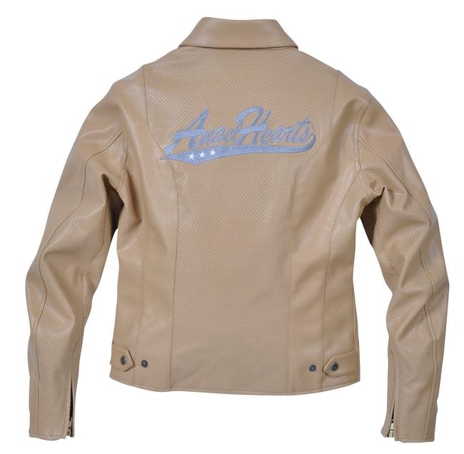 【Angel Hearts】打孔仿皮革夾克 AHJ-2114 - 「Webike-摩托百貨」