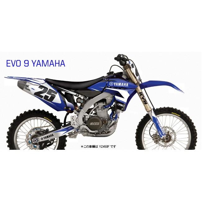 【FACTORY EFFEX】YAMAHA EVO9系列車身貼紙 - 「Webike-摩托百貨」