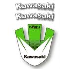 【FACTORY EFFEX】KAWASAKI 前土除貼紙