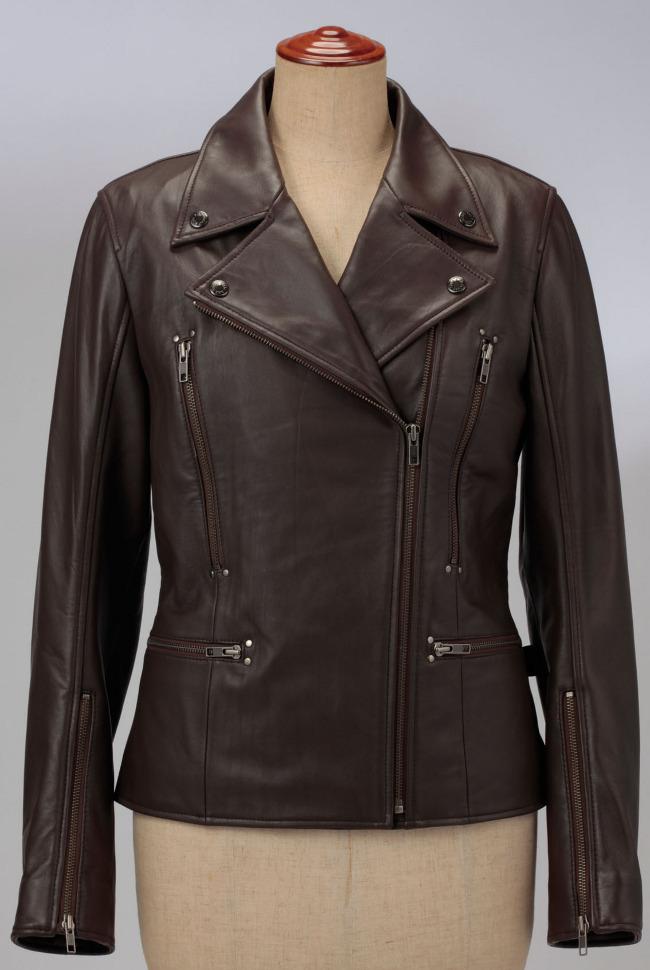 雙層皮革外套