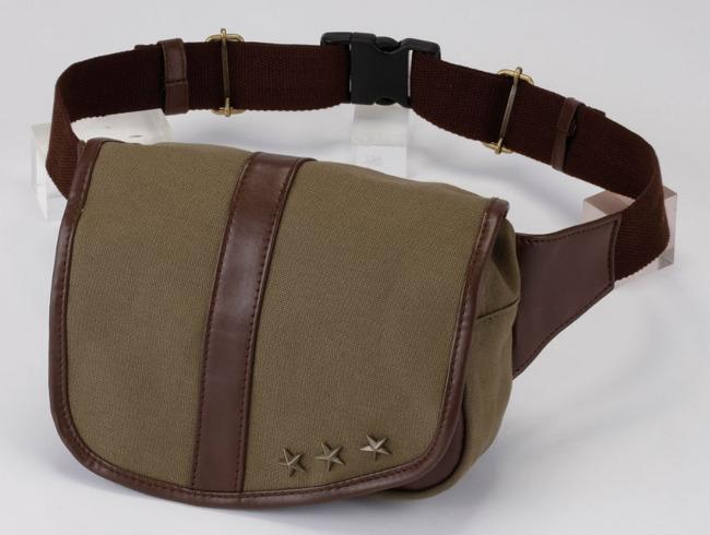 【Rosso StyleLab】棉質腰包 - 「Webike-摩托百貨」