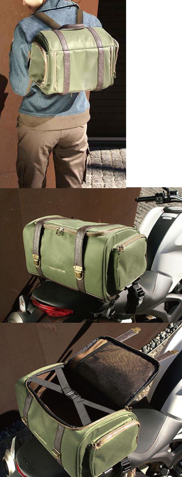 【Rosso StyleLab】軍用中型座墊包 - 「Webike-摩托百貨」