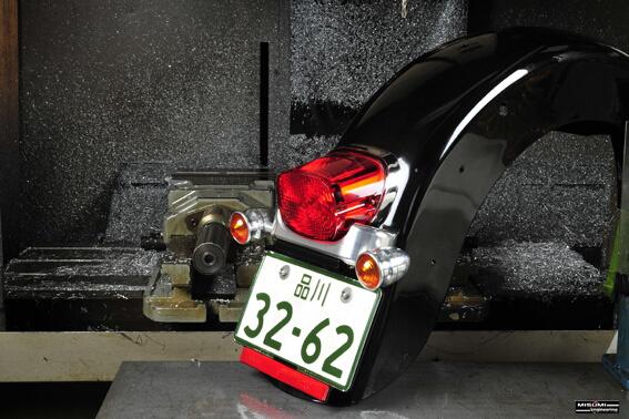 FL系 後土除用 方向燈支架&牌照架安裝套件