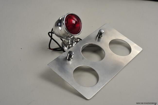 切削加工尾燈&牌照架安裝套件