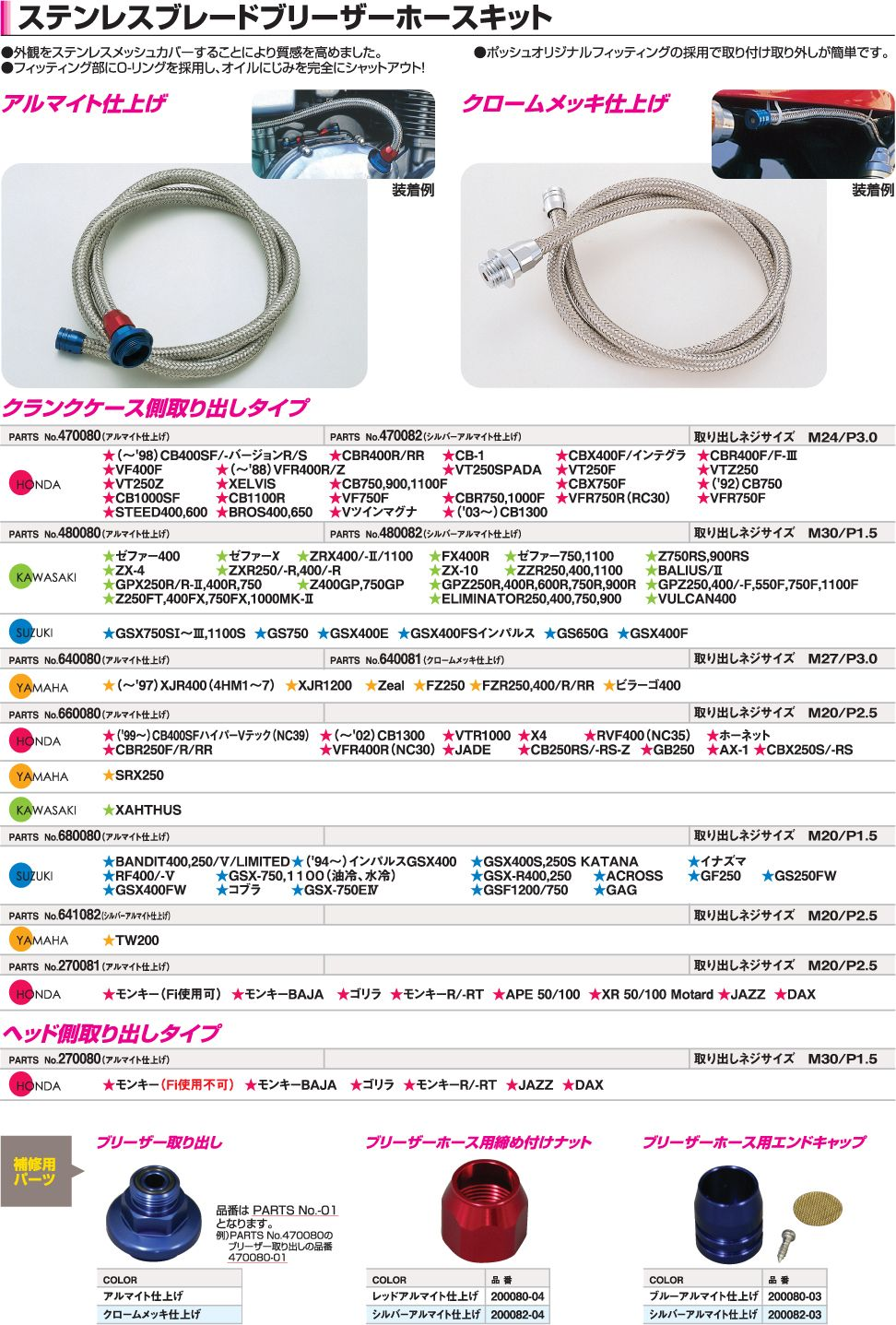 【CF POSH】不銹鋼金屬通氣管套件 - 「Webike-摩托百貨」