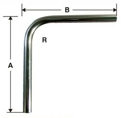 1吋 90°彎管 (t=2mm)