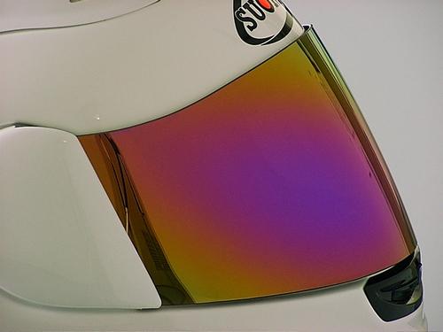 Iridium安全帽鏡面鏡片