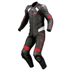 KOMINE S - 44 Titanium leather suit ( Aerodynamics pad equipped )