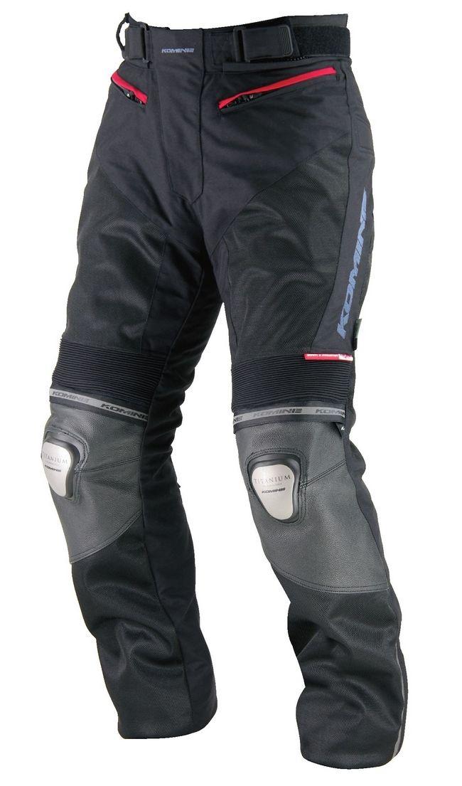 PK-712 鈦合金網格皮革褲-Riga