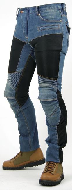 PK-719 Super fit Kevlar網格丹寧牛仔褲