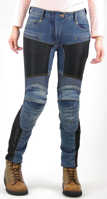 【KOMINE】PK-719 Super fit Kevlar網格丹寧牛仔褲 - 「Webike-摩托百貨」